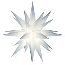 "Outdoor 21"" Illuminated Lighted Holiday Star Decoration Advent or Christmas New"