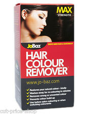 Hair Dye Colour Remover Max Strength JoBaz Removes Colour Build up /Dark Dye