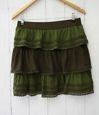 Missing Johnny Vanity Skirt Falda/Skirt Size S brown new