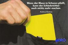 Spaß Postkarte #8 + Brehme + Mann in Schwarz + NEU +
