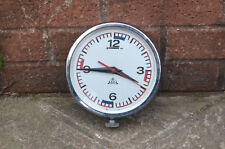Vintage ships clock old Polish wheel house clock naval clock - FREE POSTAGE