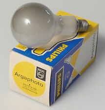 (PRL) LAMPADINA ARGAPHOTO PHILIPS 220V 500W E27 TYPE PF 308 E21 LAMP PHOTO