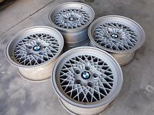 "OZ MSW 15"" Wheels BMW 5x120 ET11 7J Oldschool 87 E23 E24 E28 E32 E34 M5 M6"