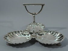 Scallop Shell Serving Dish - English Silver Plate Silverplate - Walker & Hall