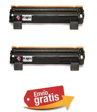 2 X TONERS COMPATIBLES NON OEM BROTHER TN-1050 HL 1112 , MFC 1810 Tn 1050 Tn1050