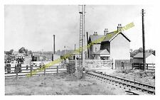 Crowle Town Railway Station Photo. Belton - Reedness. Epworth and Haxey Line (2)
