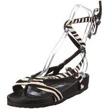 new Heidi Klum BIRKENSTOCK MALINDI Zebra Sling-back Sandals US10 UK8 EU41 NIB