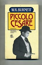William Riley Burnett # PICCOLO CESARE #  Rizzoli 1982 1A ED.