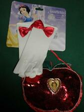 Disney Parks Authentic SNOW WHITE Gloves and Purse Set NEW
