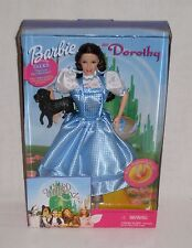 BARBIE Dorothy Wizard of OZ Talking Doll Light-Up Slippers Mattel 1999 NEW Box