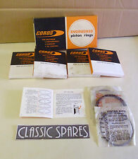 FORD ANGLIA 105E 123E 997CC 1198CC PISTON RING SET STD STANDARD BORE 020 (D45)