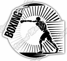 Boxing Gloves Glove Ring Fight Sport Car Bumper Window Vinyl Sticker Decal 4.6""
