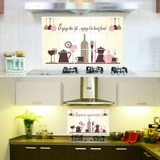 DIY Removable Kitchen Oil-proof Mural Art Vinyl Wall Stickers Home Room Decor