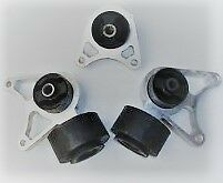 LAND ROVER FREELANDER 1-Posteriore Diff Mount cespugli KIT (3pcs)