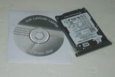 Dell Latitude E6400 160GB 2.5 7200rpm SATA Hard Drive with Caddy and Driver DVD