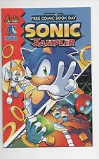 Archie Comics  Sonic The Hedgehog Sampler   2016 Free Comic Book Day Edition