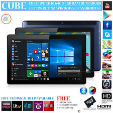 Cube iWork 10 64gb Intel 8300 doppio sistema operativo Windows 10 Android 5.1 Ultrabook Tablet PC