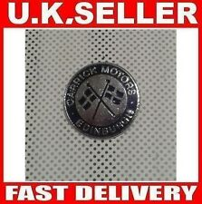 CARRICK MOTORS EDINBURGH ☆ Metal PIN BADGE ☆ CAR BIKE ☆ NEW ☆ Motorbike ?