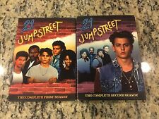 21 JUMP STREET FIRST 1ST AND SECOND 2ND SEASONS DVD SET NO SCRATCHES JOHNNY DEPP