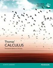 Thomas' Calculus (13th Edition) by Thomas, George B., Jr./ Weir (Global Edition)