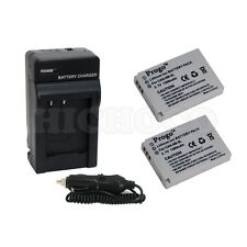 2 Battery & Charger for Canon NB-5L NB5L Powershot SD700 SX200 SX210 IS SX230 HS