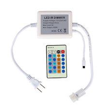 24 Keys 300W Dimmer Remote Controller For Single Color 110V LED Strip Light