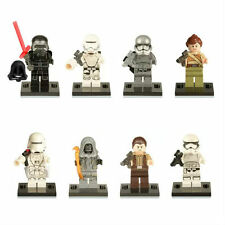8 PC 2016 NEW STAR WARS MINI FIGS CAPTAIN PHASMA KYLE REN FITS WITH LEGO TOY UK