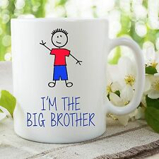 I'm The Big Brother Boccale Buffo Per Son Surprise Bambino Annuncio WSDMUG642