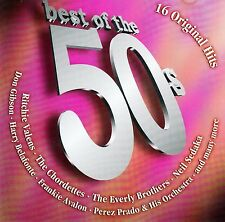 BEST OF THE 50s - 16 ORIGINAL HITS / CD (BMG ARIOLA MILLER 2002)