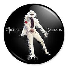"Michael Jackson 25mm 1"" Pin Badge Button MJ Smooth Criminal Paint Artwork"