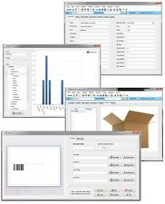 Windows 7, 8, 10 SImple Stock Room Inventory Barcode Quantity Tracking Software