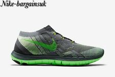 Nike Free 3.0 FLYKNIT Anthracite/Voltage Green/Grey Uk Size 4.5 718420-002