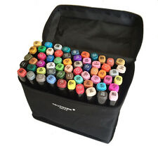 Color Marker Pen Alcohol Based Art Markers 60 Color set Manga Marker For Drawing