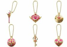 Sailor Moon diecast Charm figure gashapon set Bandai (authentic)