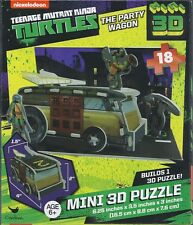 Teenage Mutant Ninja Turtles - TMNT- 18 piece 3D Mini kids puzzle - NIB