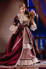 ♥ NRFB Collector Edition Victorian barbie with cedric Bear oso Teddy osito ♥