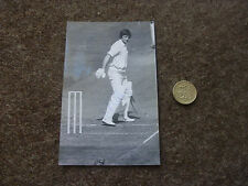 Peter WILLEY  England & Leics Cricket / Cricketer ORIGINAL Hand Signed Photo