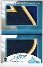 """JAKE ALLEN 2012-13 The Cup """"Autographed Monumental Rookie Patch"""" Book RC #1/3"""