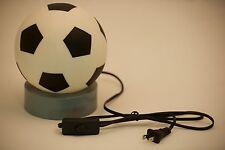 LED Soccer Ball Sports Night Light Table Lamp NEW