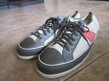 PF FLYER POSTURE FOUNDATION VULCANIZED CANVAS ATHLETIC M 16 W 17.5 SHOES