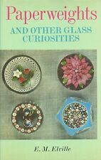 Vintage Art Glass Paper Weights + Bristol Glass - Types Makers / Scarce Book