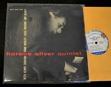 """10"""" JAZZ Horace Silver Hank Mobley Kenny Dorham Quintet Blue Note 5062 Volume 3"""