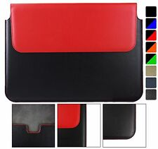 Pu Leather Sleeve Case Magnetic Pouch fits various laptops/chromebooks/tablets.