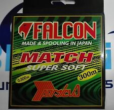 FALCON MATCH SUPER SOFT MONOLINE 0.300mm 12.640kg 300m MADE IN JAPAN