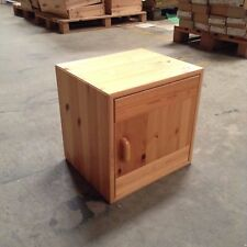 NEW FLEXA CUBE CABINET W/ DOOR, NATURAL FINISH,  Flexa #7471113 NIB!