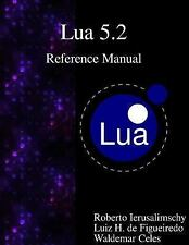 Lua 5. 2 Reference Manual by Roberto Ierusalimschy, Luiz Henrique De...