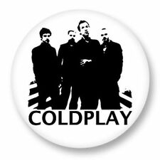 Parche imprimido, Iron on patch, /Textil sticker, Pegatina/ - Coldplay