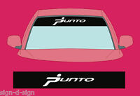 PUNTO SUNSTRIP DECALS GRAPHICS STICKER choose any 2 colours from list