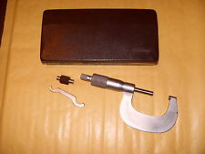 "Mitutoyo 101 - 114 ,  1-2"" Micrometer Made In Japan - As Photo"