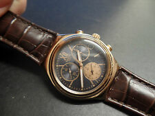 Swatch irony watchgold plated New Old stock all original Chronograph